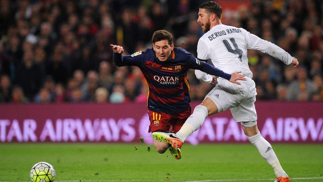 Ramos tuc gian vi cho rang Messi 'choi ban' hinh anh 1