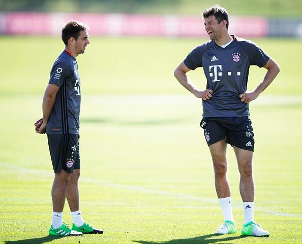 Bayern luyen choi bong ma dinh cao chuan bi gap Real hinh anh 1