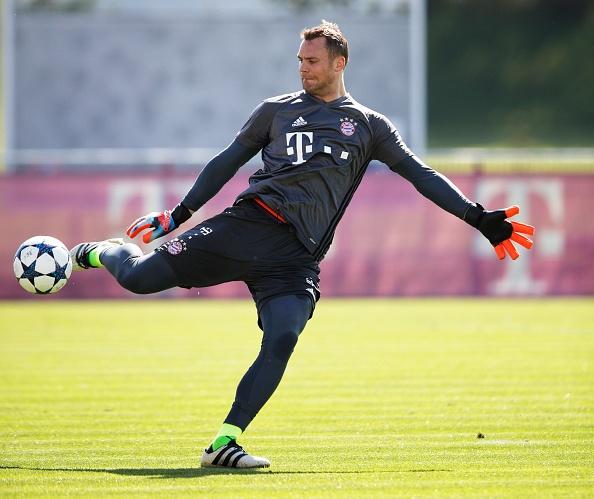 Bayern luyen choi bong ma dinh cao chuan bi gap Real hinh anh 3
