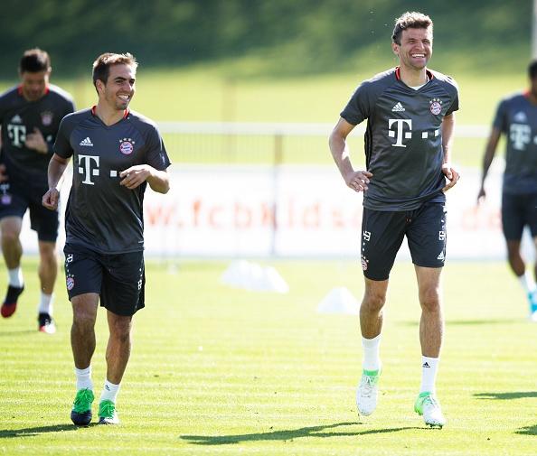 Bayern luyen choi bong ma dinh cao chuan bi gap Real hinh anh 4