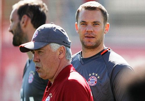 Bayern luyen choi bong ma dinh cao chuan bi gap Real hinh anh