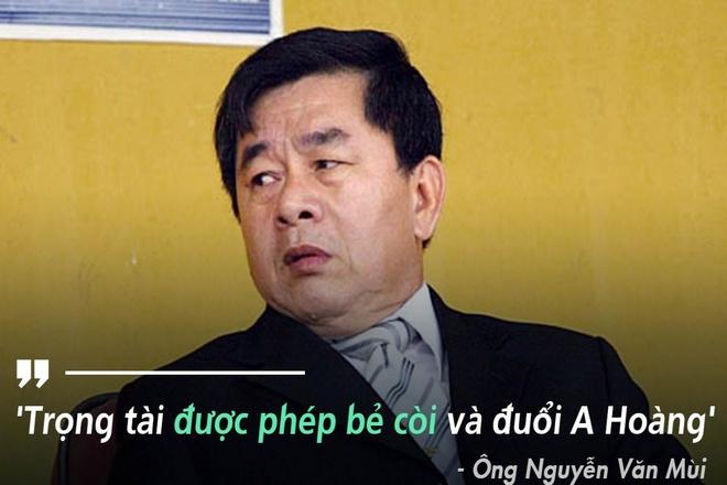Ong Mui: 'Cau thu HAGL khong duoc xoa the' hinh anh