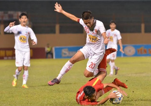 U19 Viet Nam vs U19 HAGL (3-1): Tran dau vo vun vi 2 the do hinh anh