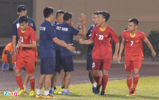 U19 Viet Nam vs U19 HAGL (3-1): Tran dau vo vun vi 2 the do hinh anh 9