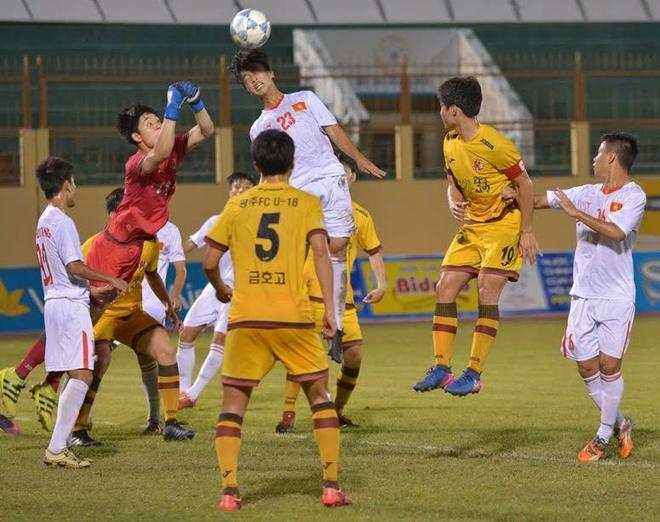 U19 Viet Nam 0-1 U19 Gwangju: Hen tai dau tranh chuc vo dich hinh anh 14