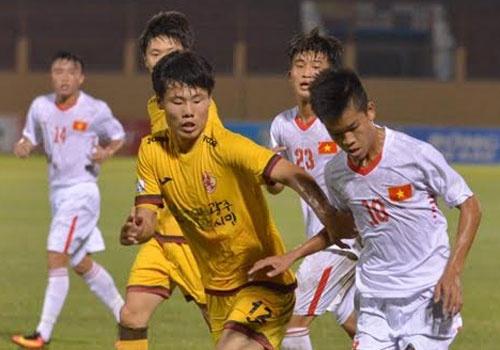 U19 Viet Nam 0-1 U19 Gwangju: Hen tai dau tranh chuc vo dich hinh anh
