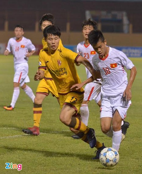 Tran U19 Viet Nam vs U19 Gwangju anh 15
