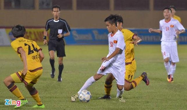 U19 Viet Nam 0-1 U19 Gwangju: Hen tai dau tranh chuc vo dich hinh anh 12