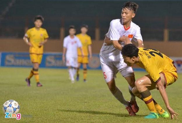 U19 Viet Nam 0-1 U19 Gwangju: Hen tai dau tranh chuc vo dich hinh anh 17