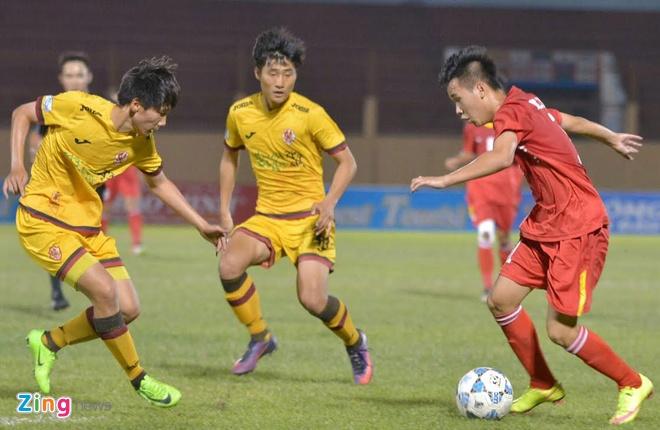 Tran U19 Viet Nam vs U19 Gwangju anh 17