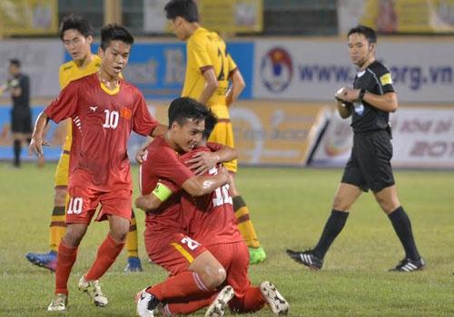 U19 Viet Nam vo dich giai U19 quoc te trong tran mat nguoi hinh anh