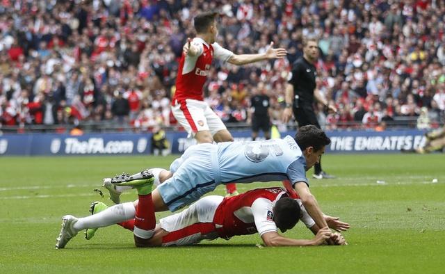 Thang Man City 2-1 sau 120 phut, Arsenal vao chung ket cup FA hinh anh 25