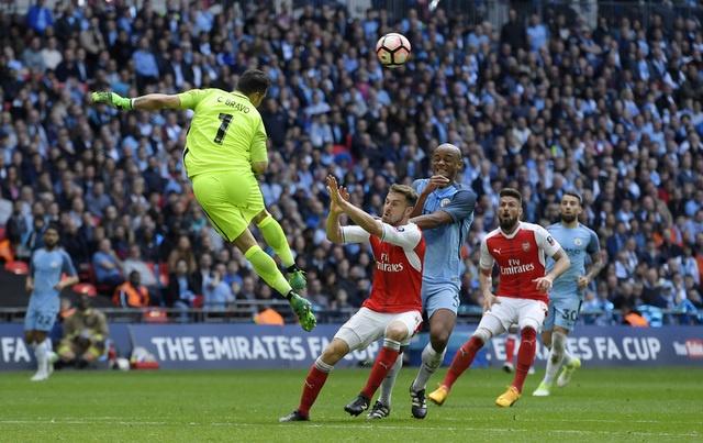 Thang Man City 2-1 sau 120 phut, Arsenal vao chung ket cup FA hinh anh 30