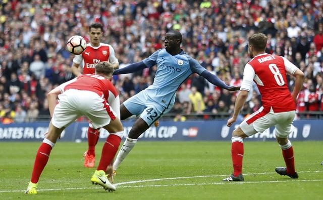 Thang Man City 2-1 sau 120 phut, Arsenal vao chung ket cup FA hinh anh 31