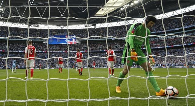 Thang Man City 2-1 sau 120 phut, Arsenal vao chung ket cup FA hinh anh 24