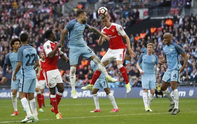 Thang Man City 2-1 sau 120 phut, Arsenal vao chung ket cup FA hinh anh 34