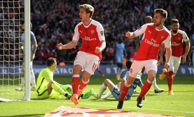Thang Man City 2-1 sau 120 phut, Arsenal vao chung ket cup FA hinh anh 29