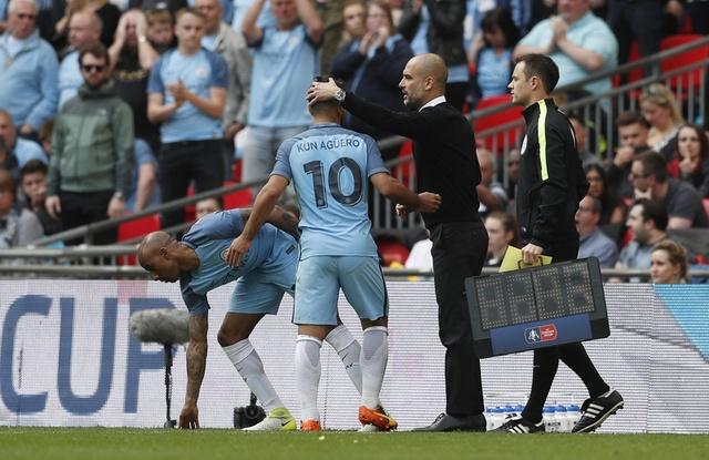 Thang Man City 2-1 sau 120 phut, Arsenal vao chung ket cup FA hinh anh 35