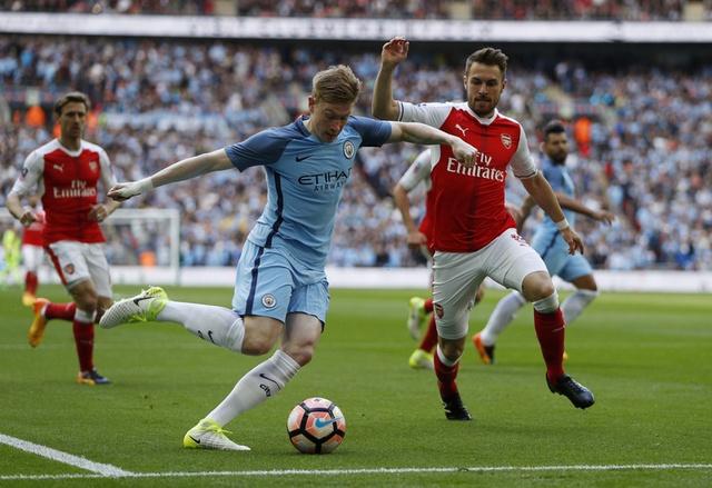 Thang Man City 2-1 sau 120 phut, Arsenal vao chung ket cup FA hinh anh 16