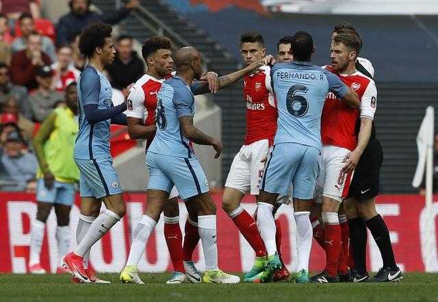 Thang Man City 2-1 sau 120 phut, Arsenal vao chung ket cup FA hinh anh 37