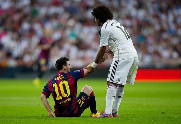 Marcelo len tieng sau khi lam Messi do mau hinh anh 1