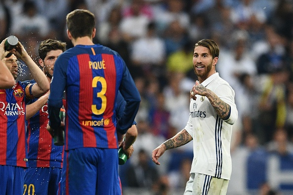 Sergio Ramos: 'Toi khong co y dinh triet ha Messi hinh anh 1