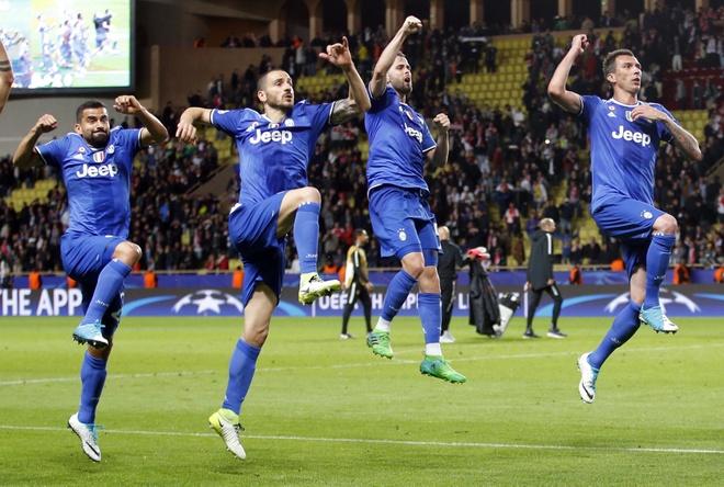 Tran AS Monaco vs Juve anh 1