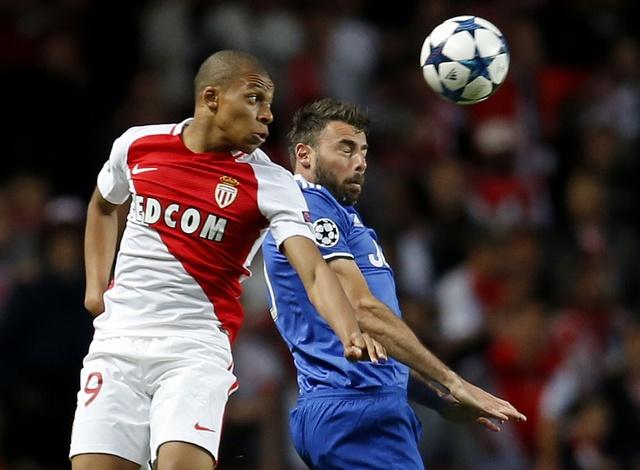 Tran AS Monaco vs Juve anh 24