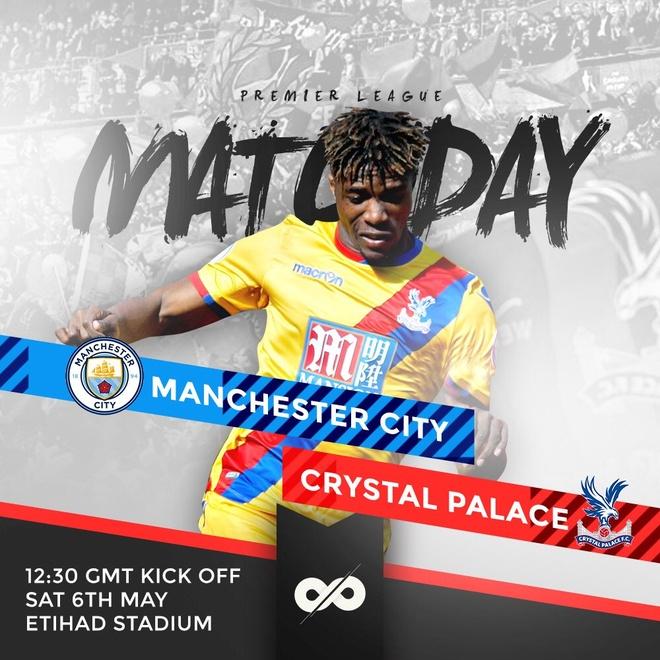 Man City vs Crystal Palace (5-0): Thay tro Guardiola vao top 3 hinh anh 9