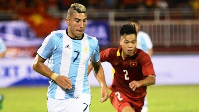 U20 Viet Nam vs U20 Argentina (1-4): Duc Chinh ghi ban danh du hinh anh
