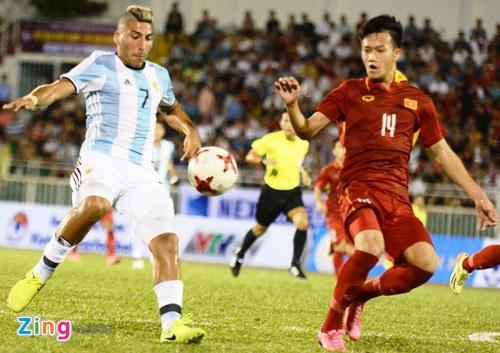 Tran U20 Viet Nam vs U20 Argentina anh 1