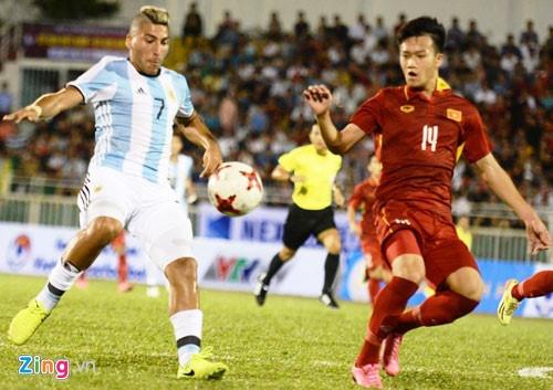 U22 Viet Nam vs U20 Argentina (0-5): That bai nang ne hinh anh 2