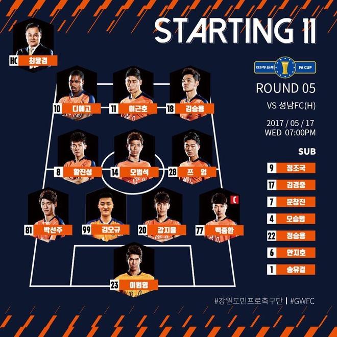Gangwon vs Seongnam (0-1): Xuan Truong roi san, doi nha nhan ban thua hinh anh 1