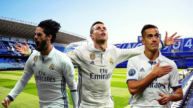 Ronaldo co the vang mat o tran Real vo dich La Liga hinh anh 1