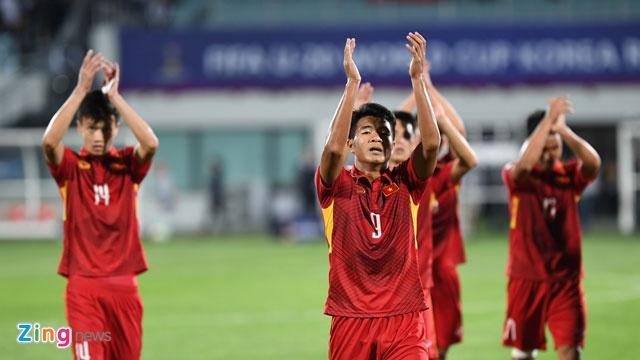 HLV Hoang Anh Tuan: 'Toi tu hao ve cau thu U20 Viet Nam' hinh anh 1
