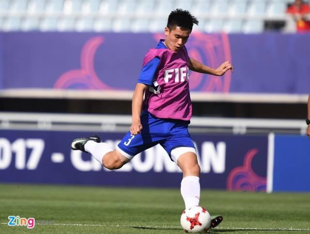 U20 Viet Nam 0-4 U20 Phap: Dinh Trong nhan the do hinh anh 28
