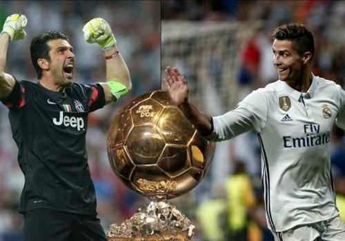 'Buffon khong the danh bai Ronaldo de gianh Qua bong vang' hinh anh