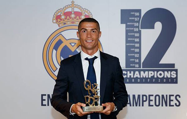 Ronaldo doat giai cau thu xuat sac anh 1