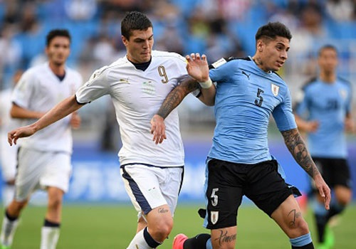 U20 Italy thang U20 Uruguay 4-1 trong loat sut luan luu 11 m hinh anh
