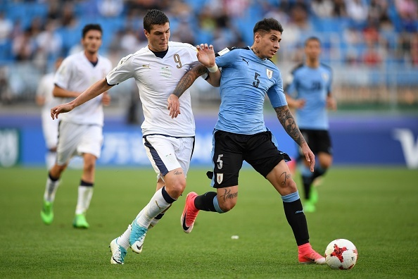 U20 Italy thang U20 Uruguay 4-1 trong loat sut luan luu 11 m hinh anh 1