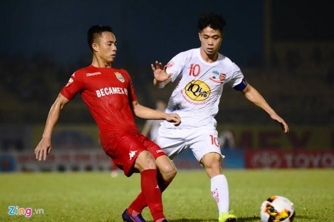 HAGL thang Binh Duong 2-1, CLB Ha Noi danh bai CLB Hai Phong 2-0 hinh anh 12