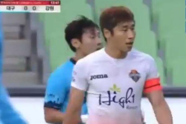 Xuan Truong choi 66 phut, CLB Gangwon co tran thang 2-1 hinh anh 9