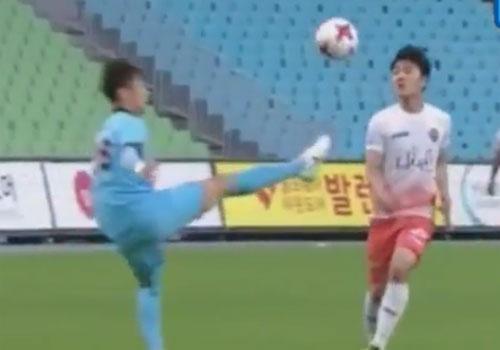 Xuan Truong choi 66 phut, CLB Gangwon co tran thang 2-1 hinh anh 10