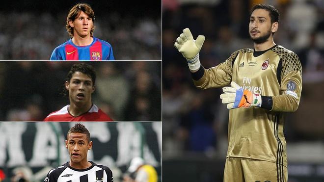 Ronaldo, Messi thua 'Buffon moi' ve thu nhap o tuoi 18 hinh anh 1