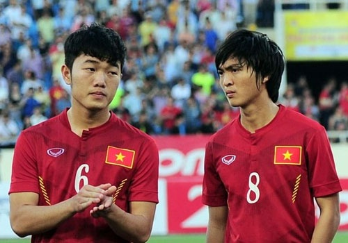 U22 Viet Nam gap Thai Lan, Indonesia o vong bang SEA Games 29 hinh anh
