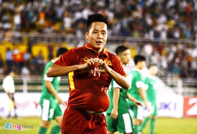 U22 VN 8-1 U22 Macau: Xuan Truong tro lai an tuong hinh anh 16