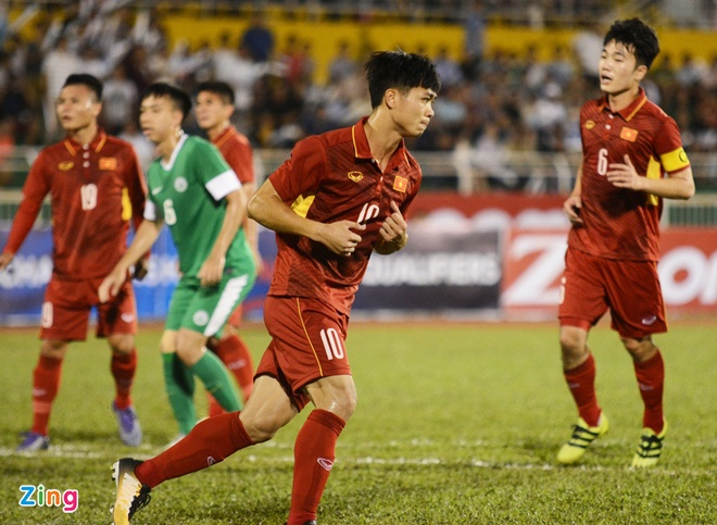 U22 VN 8-1 U22 Macau: Xuan Truong tro lai an tuong hinh anh 17