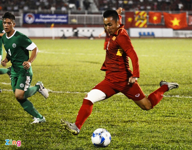 U22 VN 8-1 U22 Macau: Xuan Truong tro lai an tuong hinh anh 21