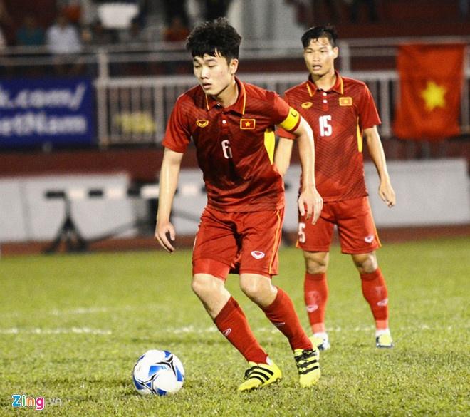 U22 VN vs U22 Han Quoc (1-2): Hang phong ngu mac sai lam hinh anh 4