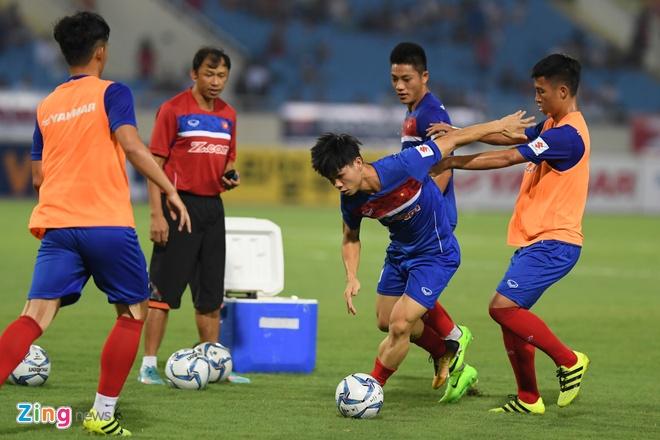 U22 VN vs Ngoi sao K.League (1-0): Van Toan ghi ban hinh anh 24